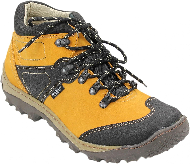 Herren Sneaker Trekking Outdoor Schuhe Wanderschuhe Freizeitschuh Schnürer 18224