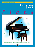 Alfred's Basic Piano Library - Theory Book 5: Learn How to Play Piano with This Esteemed Method