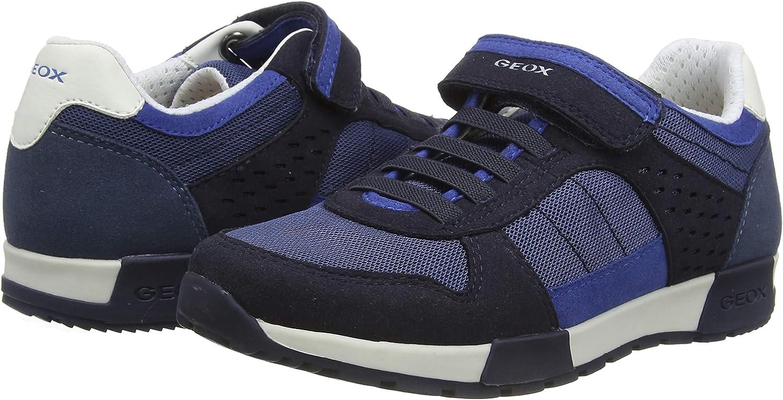 Geox J Alfier Boy A Sneakers Basses gar/çon