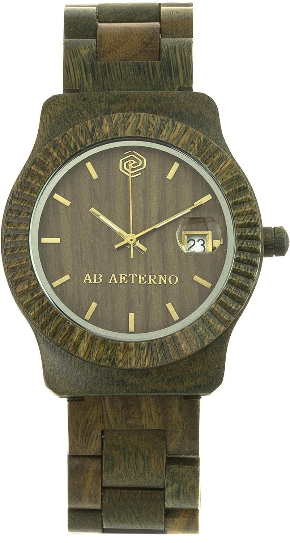 Ab Aeterno Ray Unisexuhr Sandelholz grÜn ABSM003