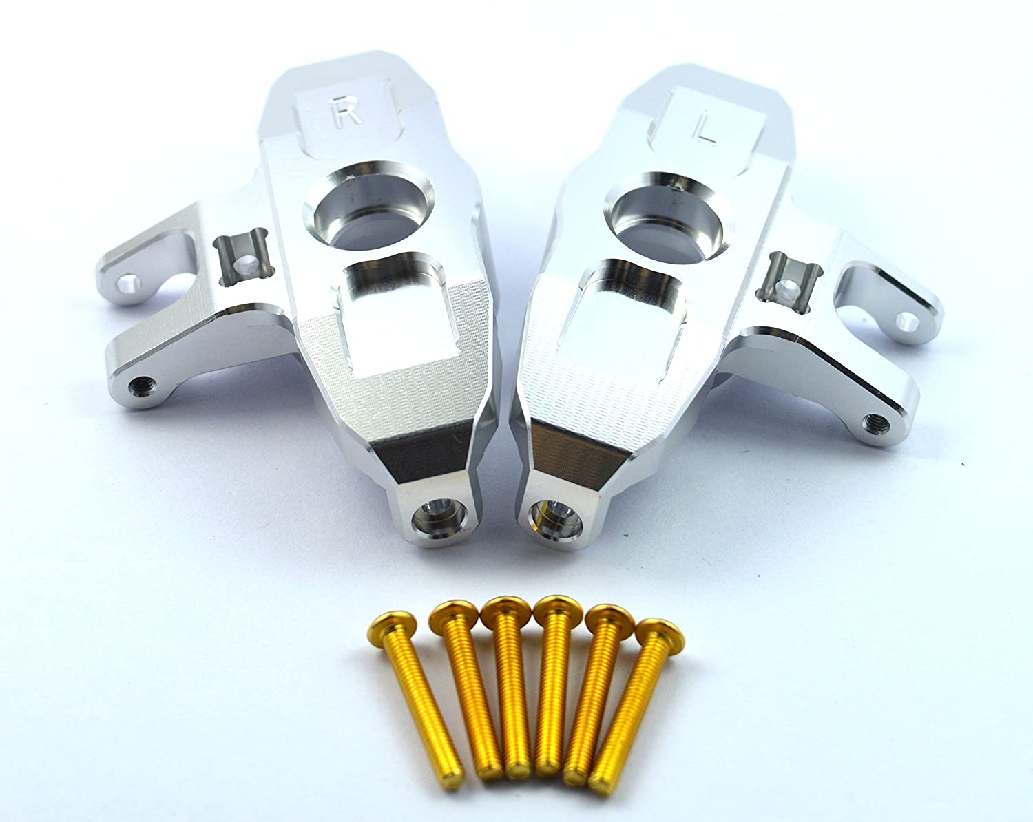 UDR Dhawk Racing CNC Aluminum Axle Carriers Front C-Hubs For Traxxas Unlimited Desert Racer