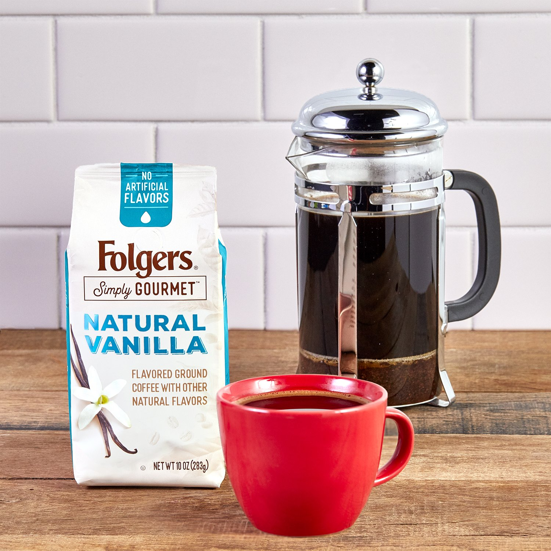Folgers Simply Gourmet Café molido con otros sabores naturales ...