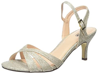 c1cf7bc1c4a Pink by Paradox of London Women s Shelby Ankle Strap Sandals  Amazon ...