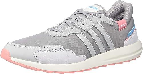 amazon zapatos adidas de mujer gris