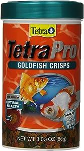 Tetra 77076 TetraPRO Goldfish Crisps for Fishes, 3.03 oz