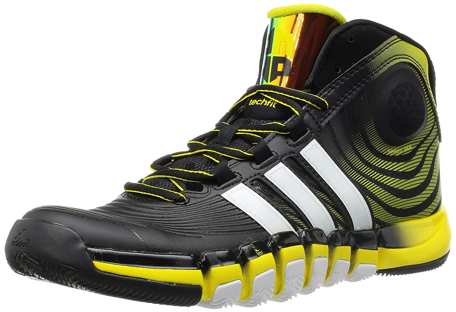 the best attitude 8e733 137c0 Adidas Mens D-Howard 4 Shoes blackyellow-UK 9 Amazon.co.uk Sports   Outdoors