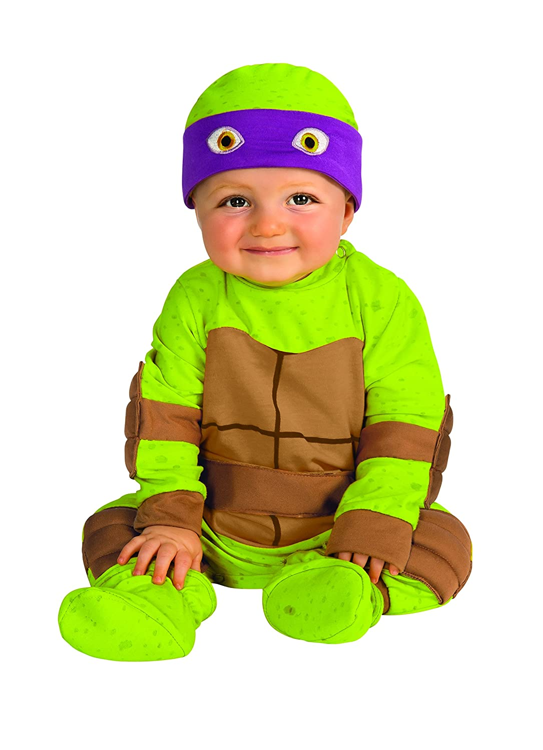 Amazon.com Rubieu0027s Costume Babyu0027s Teenage Mutant Ninja Turtles Animated Series Baby Costume Clothing  sc 1 st  Amazon.com : 0 3 months halloween costumes  - Germanpascual.Com