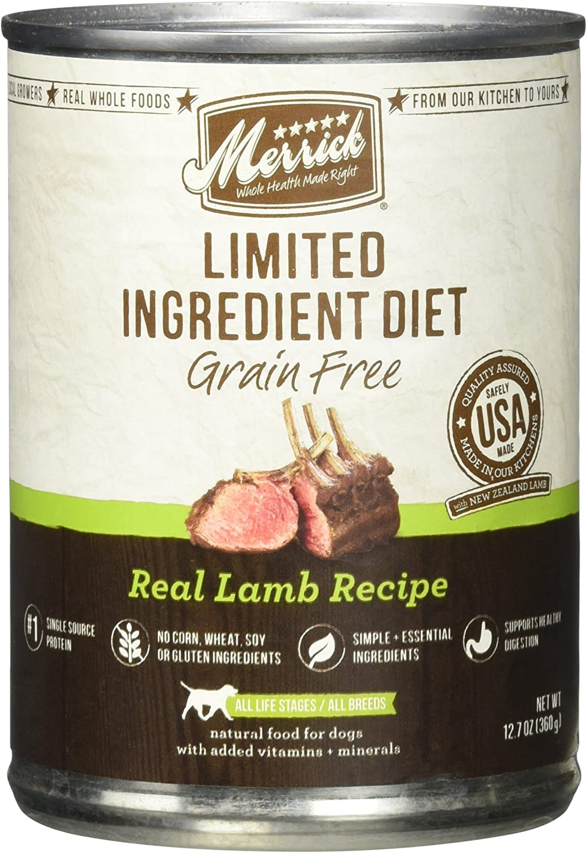 Merrick Limited Ingredient Diet - Real Lamb Recipe - 12.7 Oz - 12 Ct