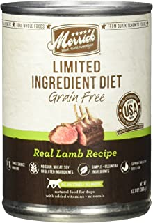 product image for Merrick Limited Ingredient Diet - Real Lamb Recipe - 12.7 Oz - 12 Ct