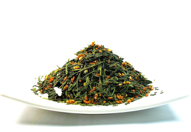 Japanese Genmaicha Popcorn Green Tea premium green tea helps the stomach to digest – 1lb Tea Bag
