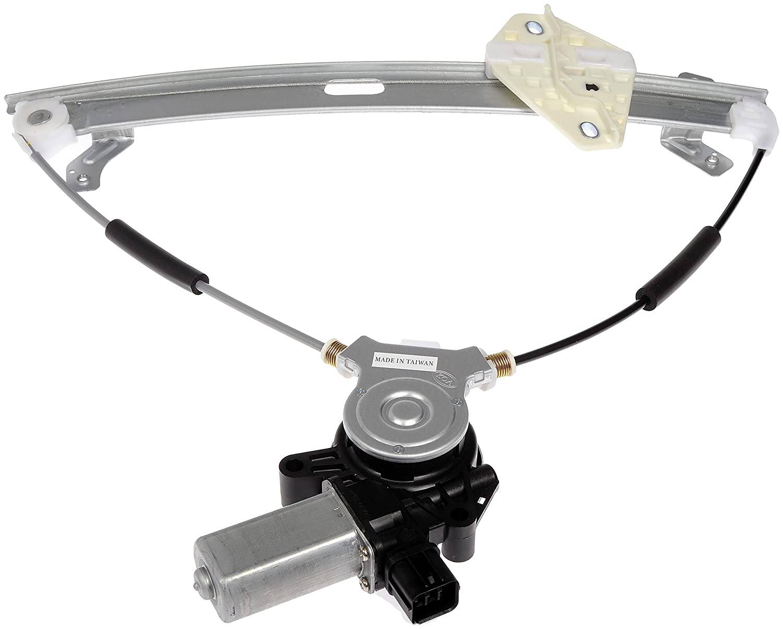 Dorman 741-304 Honda Accord Front Driver Side Window Regulator with Motor Dorman - OE Solutions 741304DOR