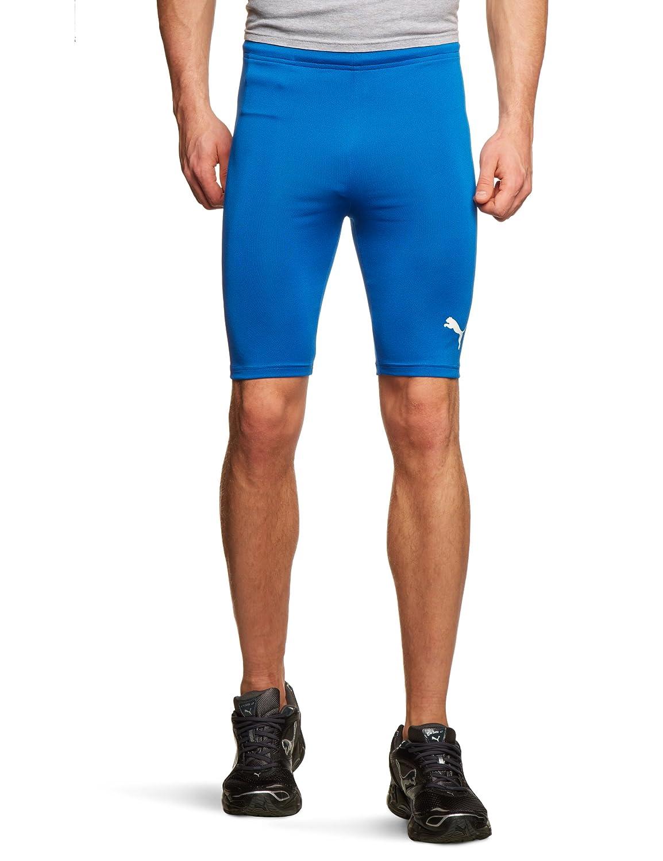 c07ca251ba52 Puma Men s Cycling Running Tight Training White Shorts  Amazon.co.uk ...