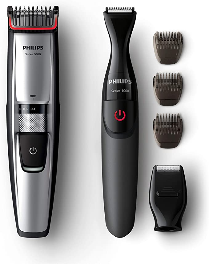 Philips BEARDTRIMMER Series 5000 Barbero BT5205/85 - Depiladoras ...