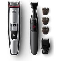 Philips BT5205/85, Tondeuse barbe Series 5000 avec guide de coupe dynamique et tondeuse de précision supplémentaire