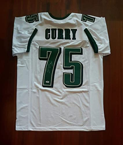 official photos f6fbc 3c93a Autographed Vinny Curry Jersey - PSA/DNA Certified ...