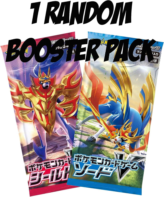 Paquete de Refuerzo de Espada y Escudo de Pokémon japonés, 1 ...