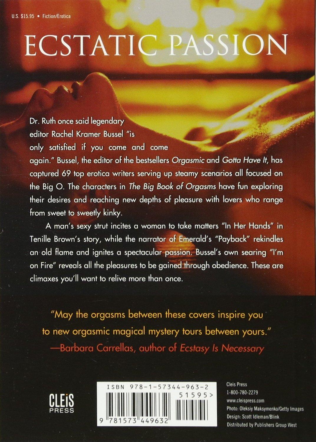 Amazon.com: The Big Book of Orgasms: 69 Sexy Stories (9781573449632): Lady  Cheeky, Rachel Kramer Bussel, T. Fox Dunham: Books