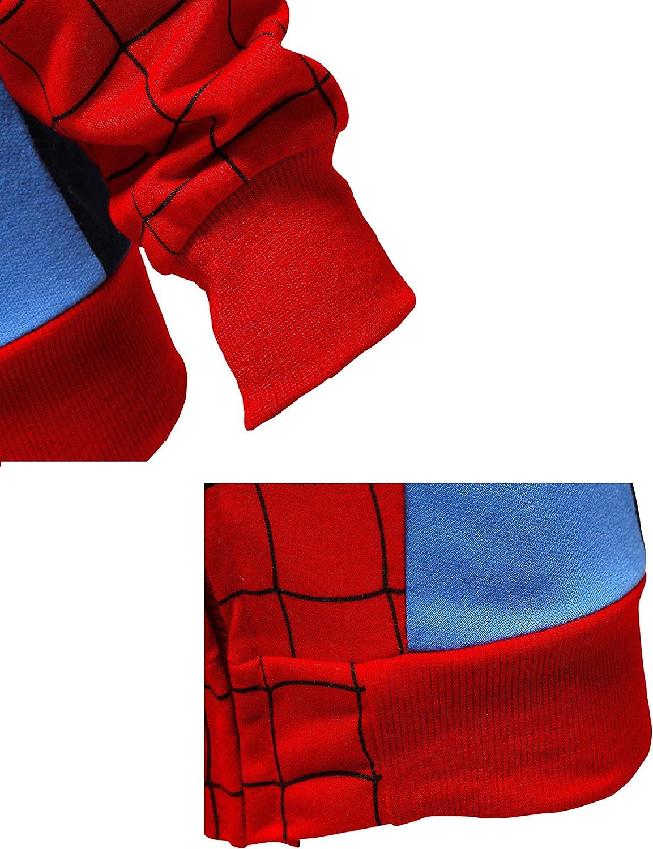Aramomo felpa con cappuccio per bambini a maniche lunghe con tasca e cerniera per bambini e bambine dai 1 ai 7 anni