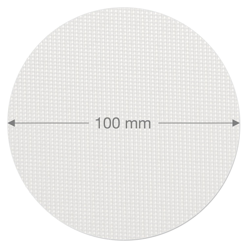 ECENCE 12x Anti-Rutsch Pads Bad-ewanne Dusche Treppe Antirutschmatte selbstklebend Rutschfest Sticker 21010101