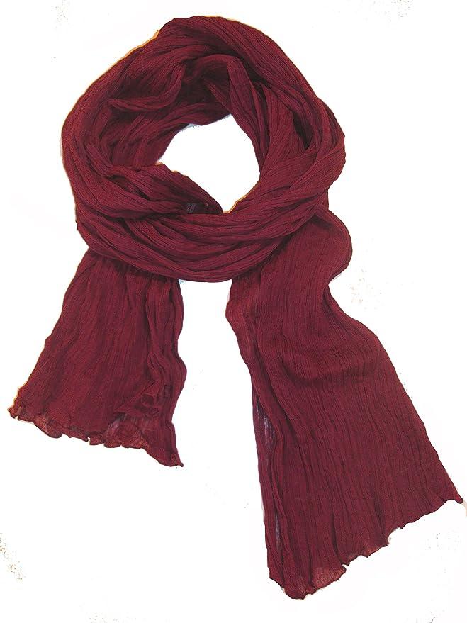 d523ad4e6d6 itendance Chèche Écharpe Homme Femme 100% coton Foulard - Différentes  couleurs disponibles  Amazon.fr  Vêtements et accessoires