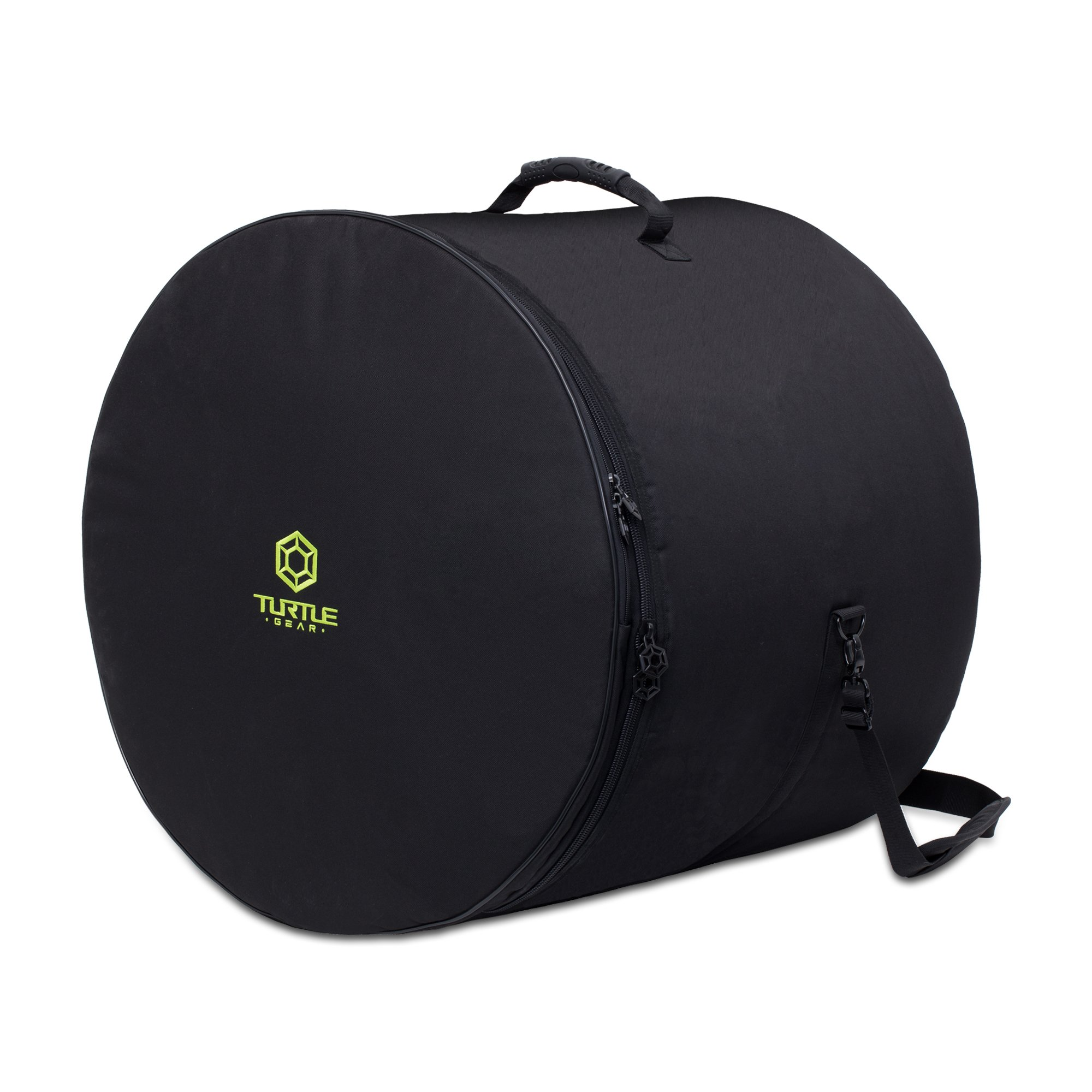 TURTLE GEAR Extra Thick Padded Nylon Drum Case Bags: Standard 5-piece Set by Turtle Gear (Image #2)