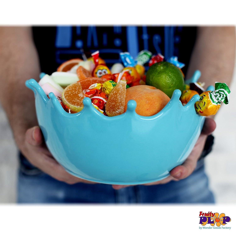 Amazon.com | Premium Large Salad Bowl - Serving Bowl - Fruit Bowl ...
