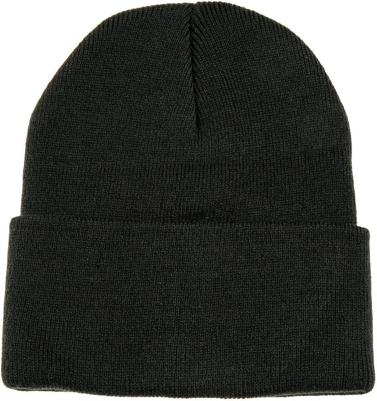 Dark Black Beanie For Stylish Streetwear Fashion At Amazon Men S Clothing Store