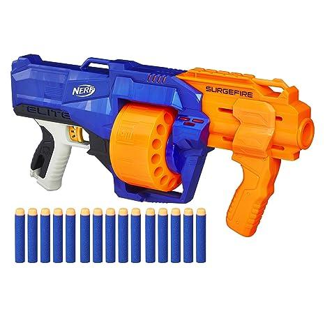 amazon com nerf n strike elite surgefire toys games