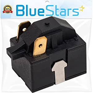 Ultra Durable 6748C-0004D Refrigerator Start Relay Replacement Part by Blue Stars – Exact Fit For LG & Kenmore Refrigerators – Replaces 6749C-0014E