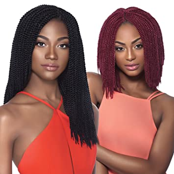 Outre Synthetic Hair Crochet Braids X,Pression Braids Senegalese Twist  Small (14\