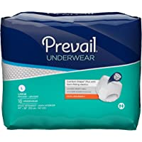 Prevail Extra Absorbency Underwear, Blanco, Large