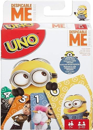 Juegos Mattel- Minions Disney Juego UNO Cartas MI Villano Favorito, Multicolor (FDV57): Amazon.es: Juguetes y juegos