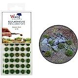 Krigsvärld scener självhäftande statisk gräs tuft x 100 – höst, 4 mm – modell järnväg krigslam landskap järnväg…