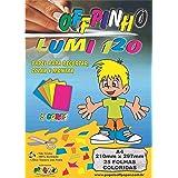 Papel Criativo A4, Off Paper, Offpinho Lumi 120, 10077, 5 Cores, 25 Folhas