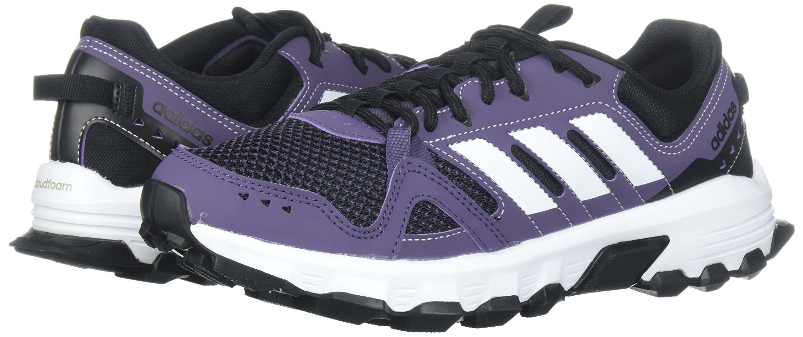 adidas Women's Rockadia w Trail Running Shoe, Trace Purple/White/Core Black, 7 M US by adidas (Image #6)