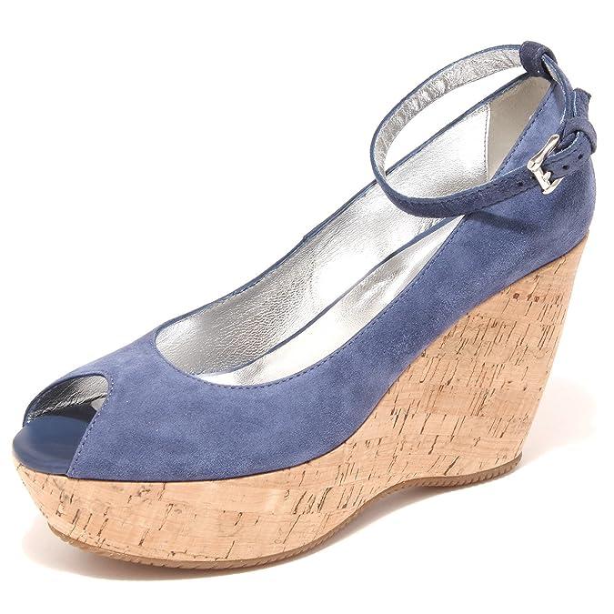 decollete spuntato HOGAN zeppa scarpa donna shoes women 42667