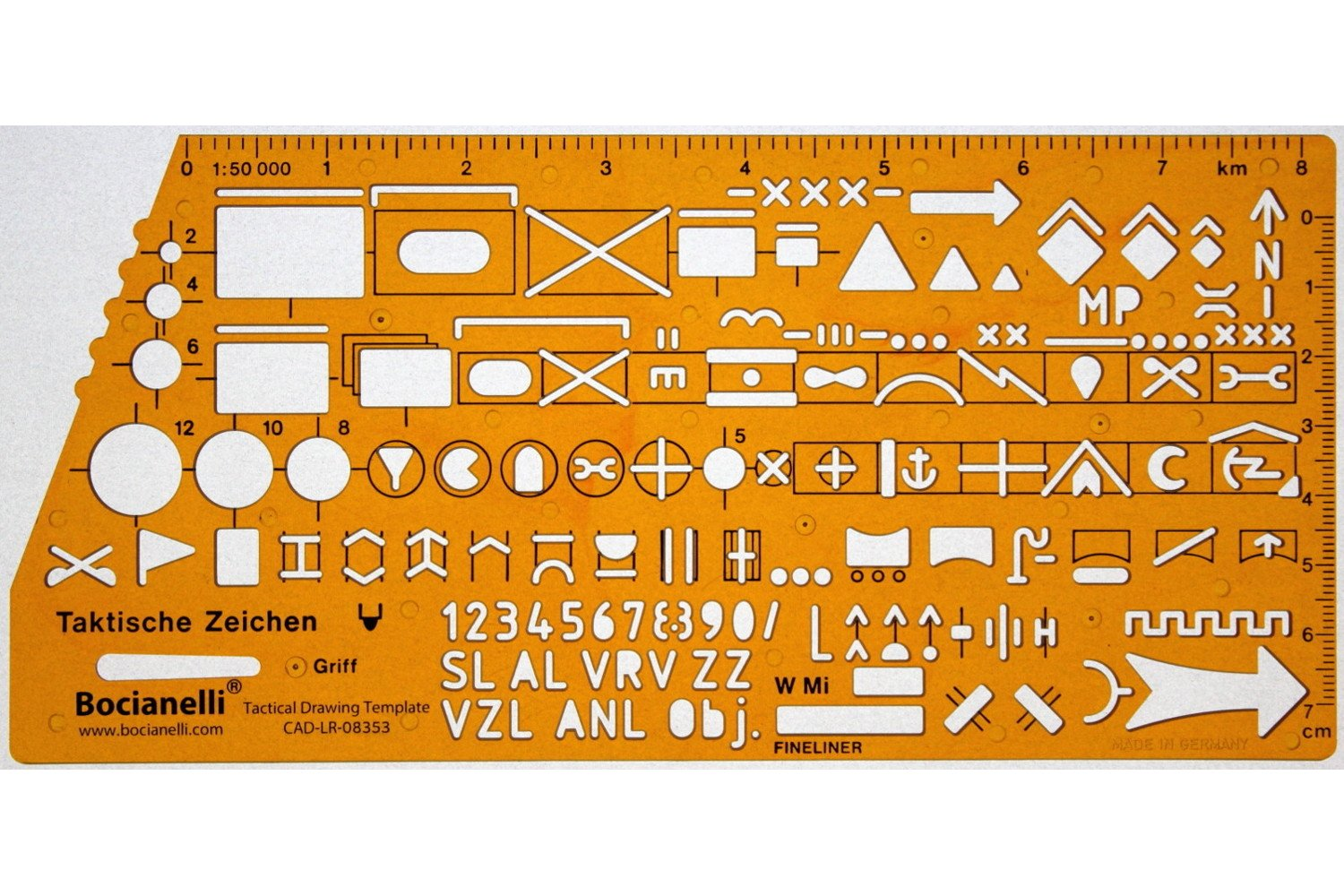 Nato army military tactical map marking symbols drawing drafting nato army military tactical map marking symbols drawing drafting template stencil amazon office products biocorpaavc
