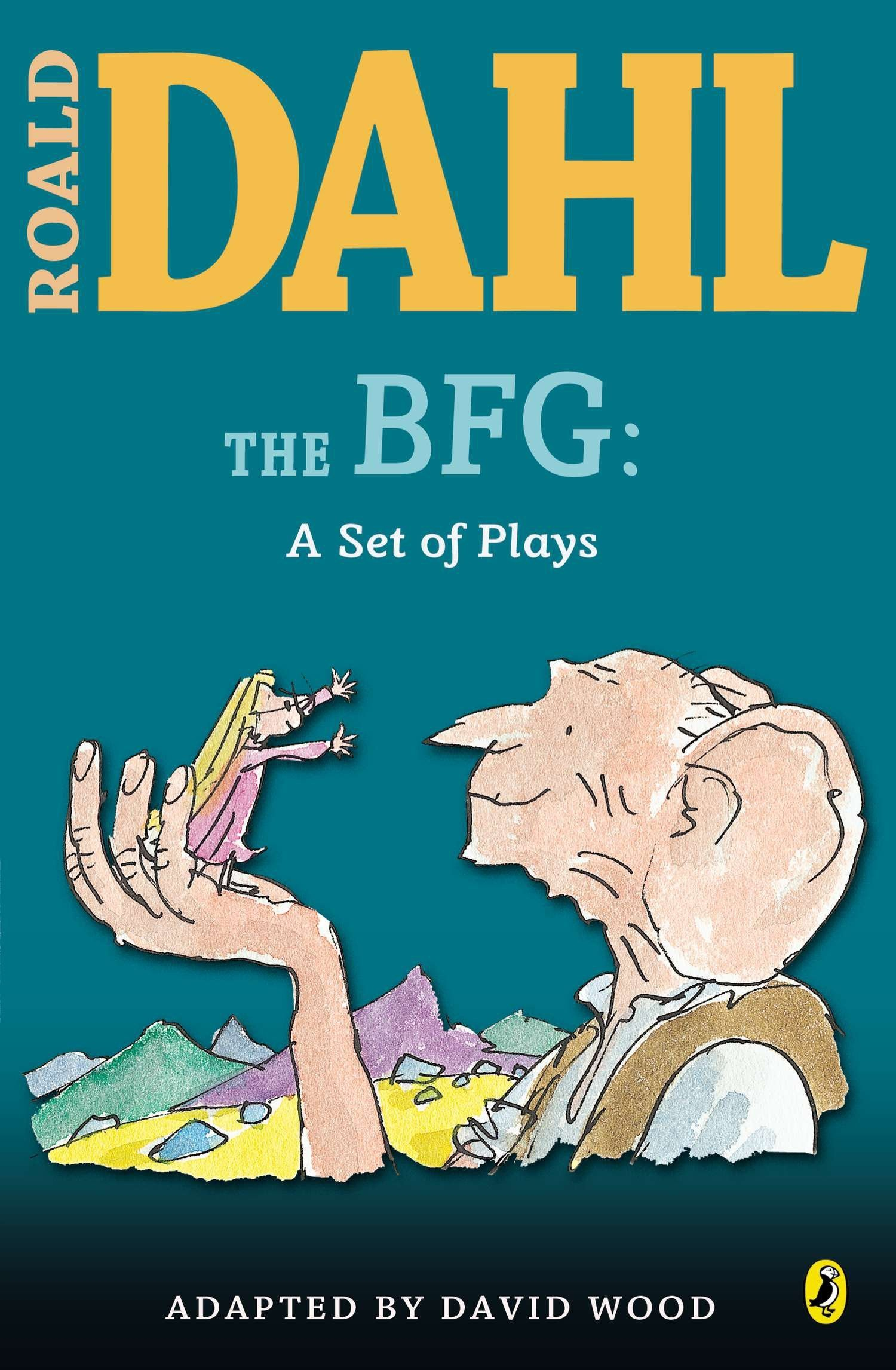 The BFG Poster Roald Dahl Classic Childrens Story Book FREE P+P CHOOSE YOUR SIZE