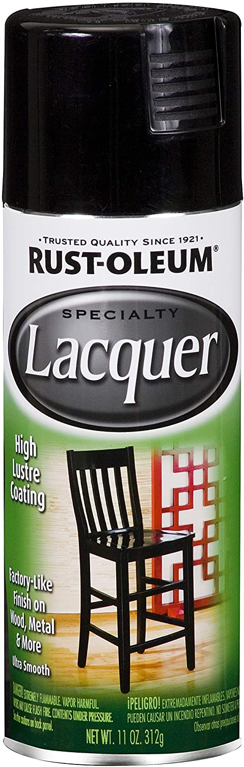 Rust-Oleum 1905830 1905-830 Spray Paint, 11 oz, Black