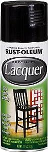 Rust-Oleum 1905830 1905-830 Spray Paint, 11 oz, Black