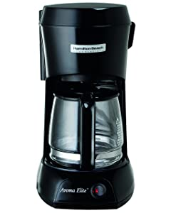 Hamilton Beach Commercial HDC500C Hotel & Hospitality Coffeemaker, Black with Glass Carafe