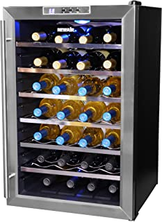 NewAir AW-281E 28 Bottle Thermoelectric Wine Cooler & Amazon.com: Cuisinart CWC-3200 32-Bottle Private Reserve Wine Cellar ...