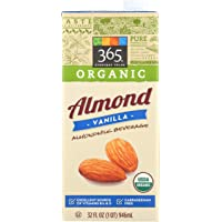 365 Everyday Value, Organic Almond Milk, Vanilla Flavor, 32 fl oz