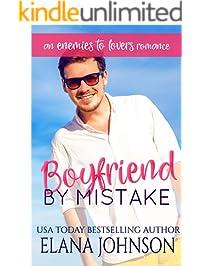 Boyfriend By Mistake: An Enemies to Lovers Romance (Carter's Cove Beach Romance Book 1)