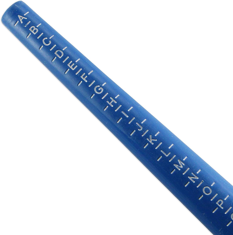 Anillo Medidor Stick UK AZ + 6 incluye tabla de conversión de EE ...