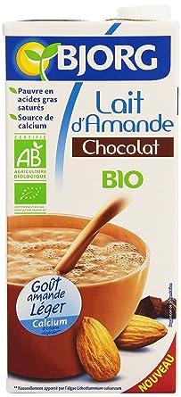 Bjorg Lait D Amande Chocolat Bio 1 L Amazon Fr Epicerie