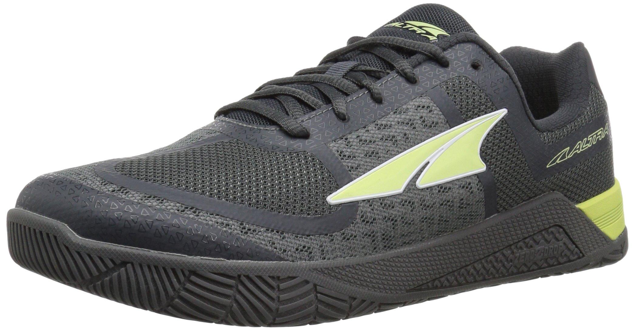 Altra Women's HIIT XT Cross-Training Shoe, Gray/Lime, 7.5