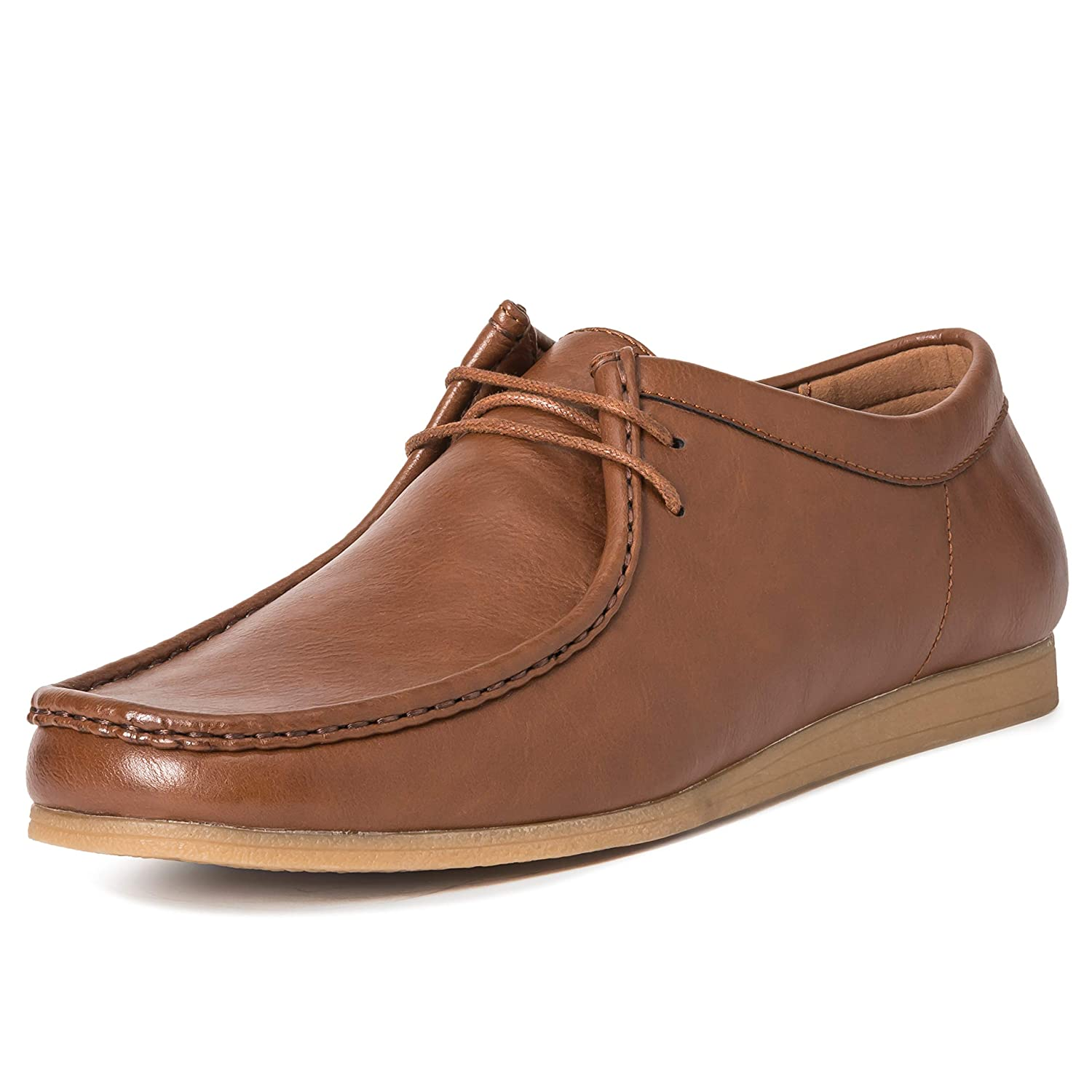 TALLA 46 EU. Hombres Queensberry Oscar Wallaby Smart Oficina Desierto Trabajo Loafer Chukka Formal Zapatos