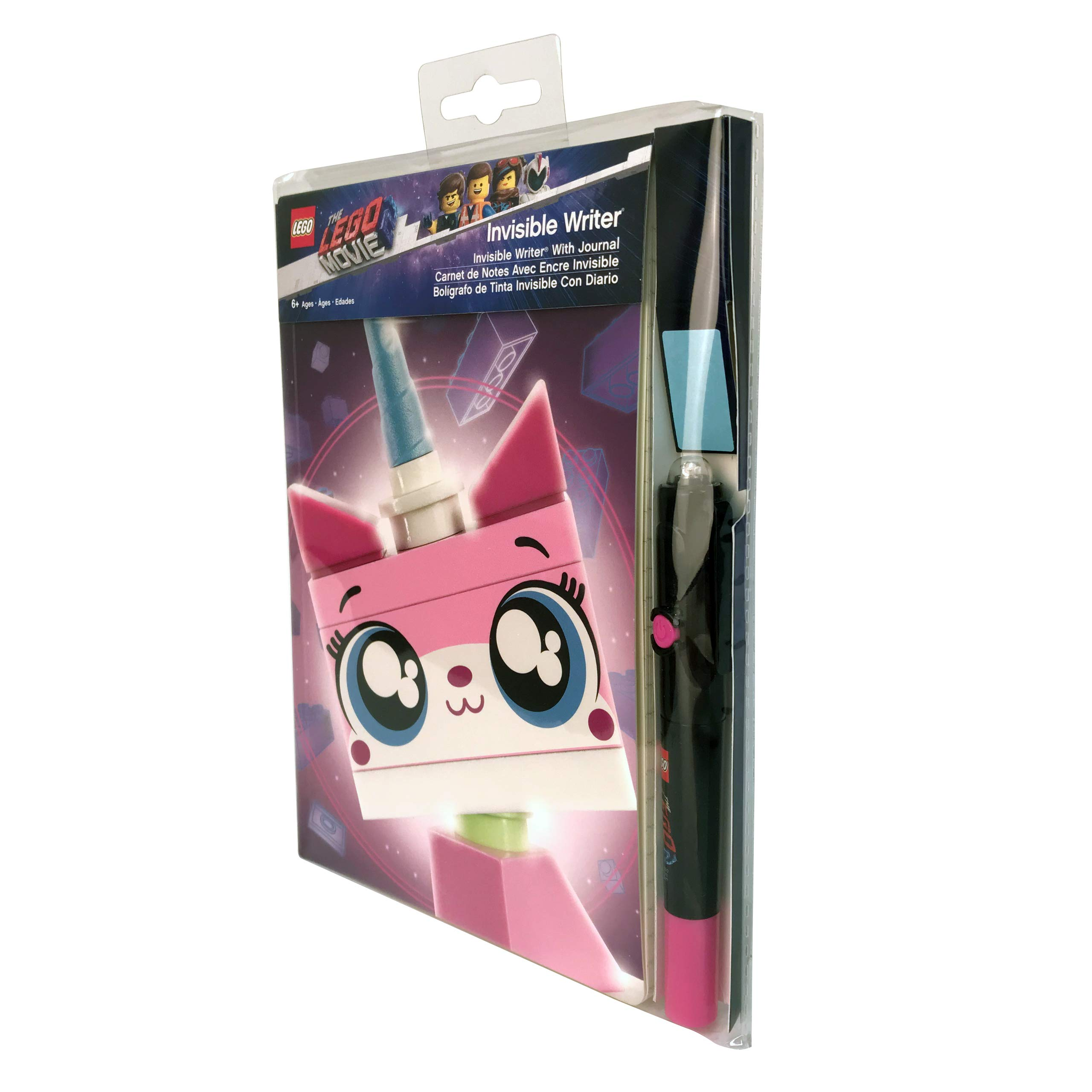 LEGO The Movie 2 Unikitty Invisible Writer with Journal by LEGO (Image #4)
