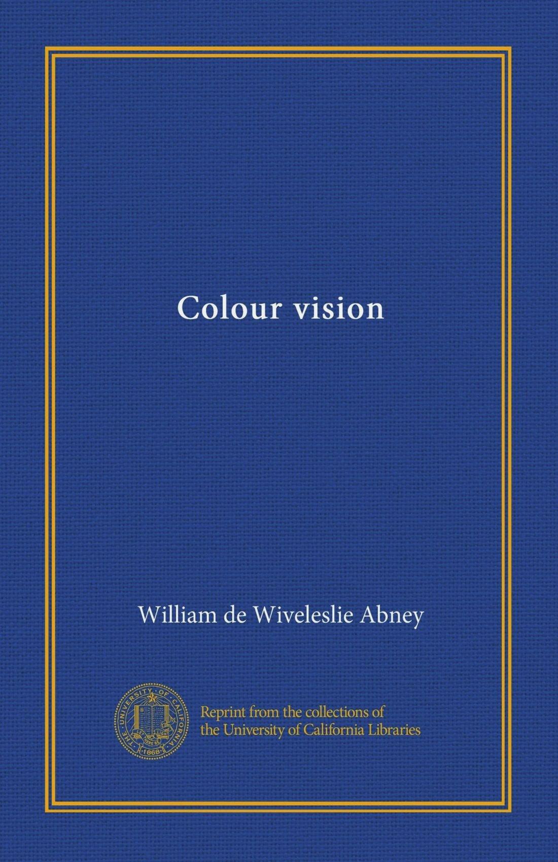 Colour vision PDF